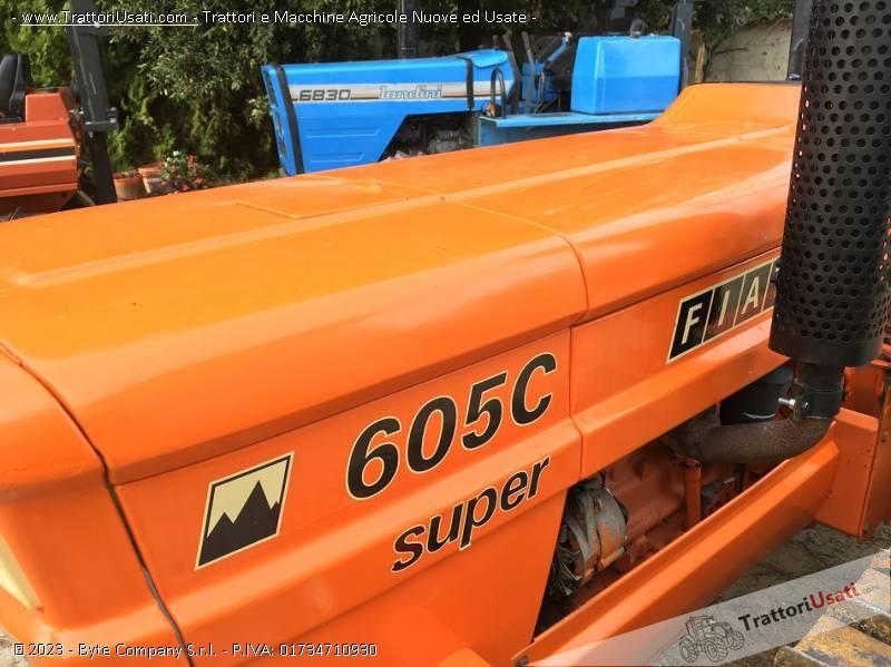 Trattore cingolato fiat - 605 super 2