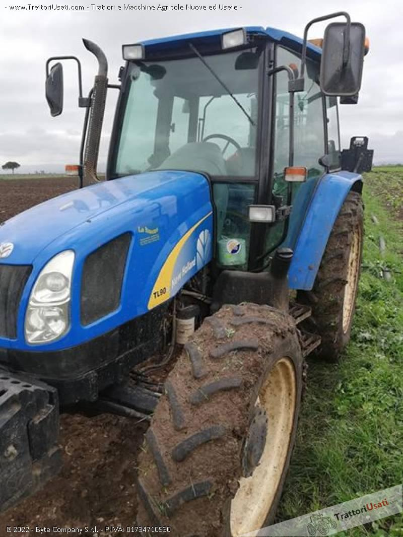 Trattore new holland - tla 90 0