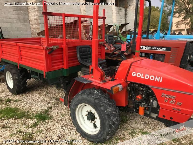Motoagricola goldoni - transcar w40 rs 0