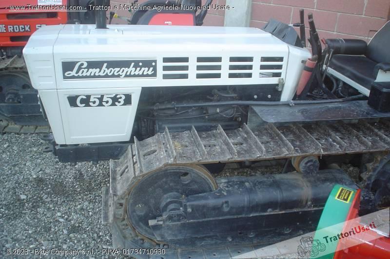 Trattore cingolato lamborghini - c-553 4