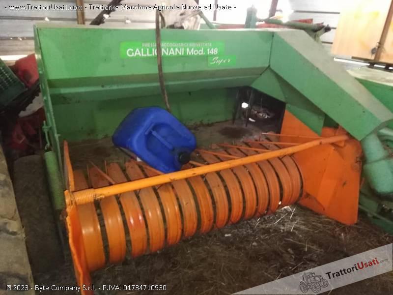 Imballatrice gallignani - 148 super 1