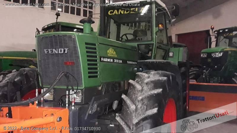 Trattore fendt - 312 lsa 0