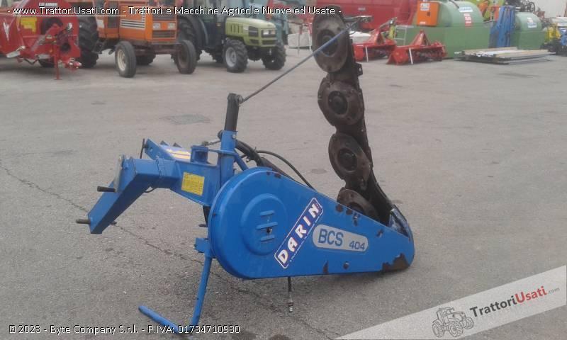 Falciatrice bcs - 404 sollevamento idraulico 1