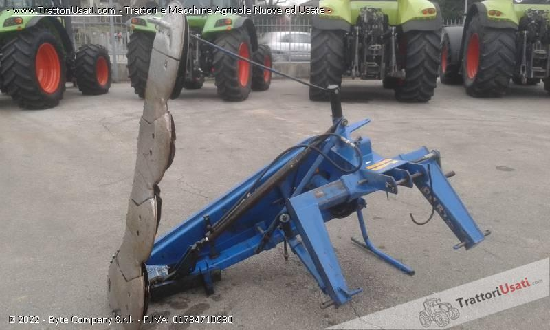 Falciatrice bcs - 404 sollevamento idraulico 2