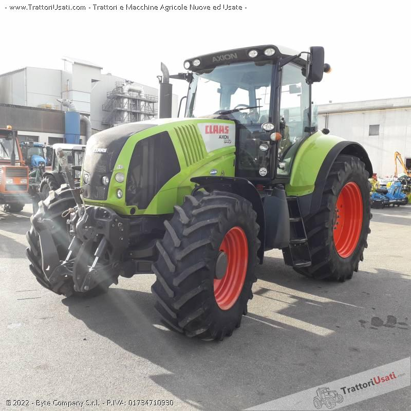 Trattore claas - 840 cmatic 4