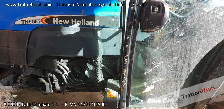 Trattore new holland - tn95fa 0