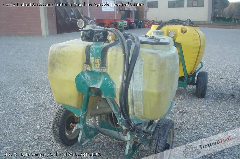 Atomizzatore  - p-45 litri 400 cima 2