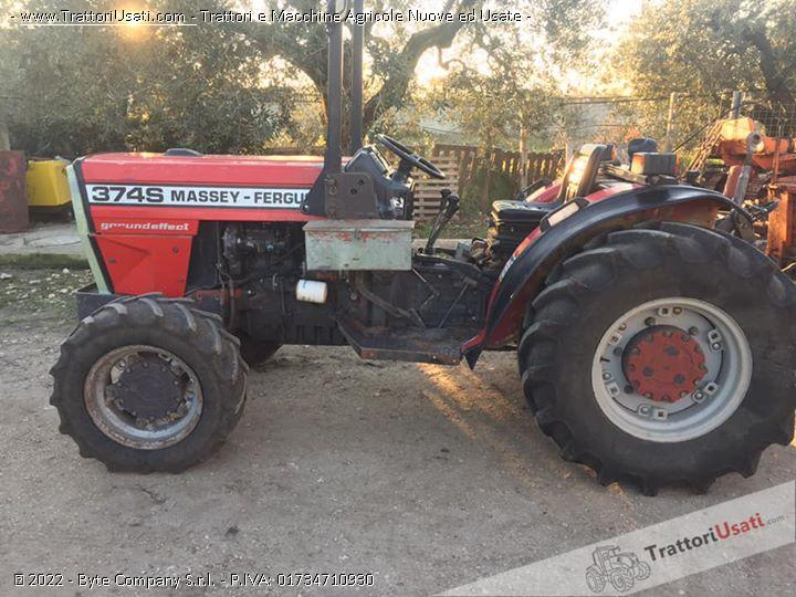 Trattore massey fergusson - 374s 0