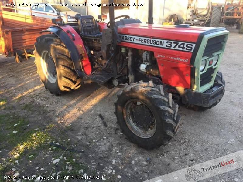 Trattore massey fergusson - 374s 1