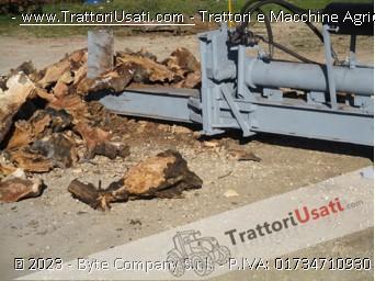 Spaccalegna  - orizzontale con attacco a tre punti per trattori 4