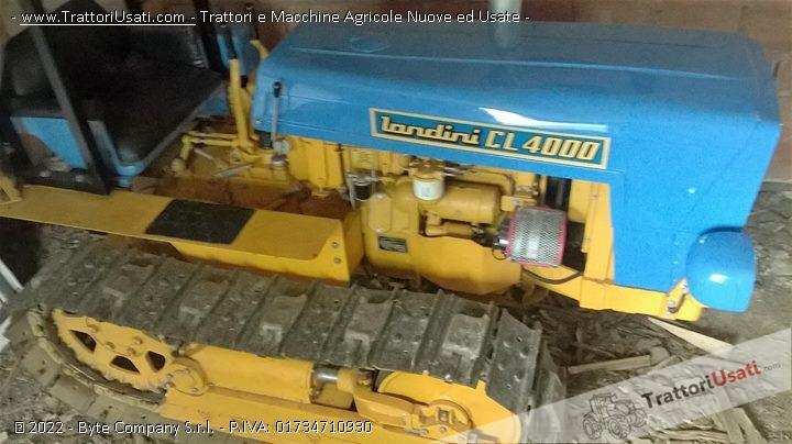 Trattore cingolato landini - cl 4000 0