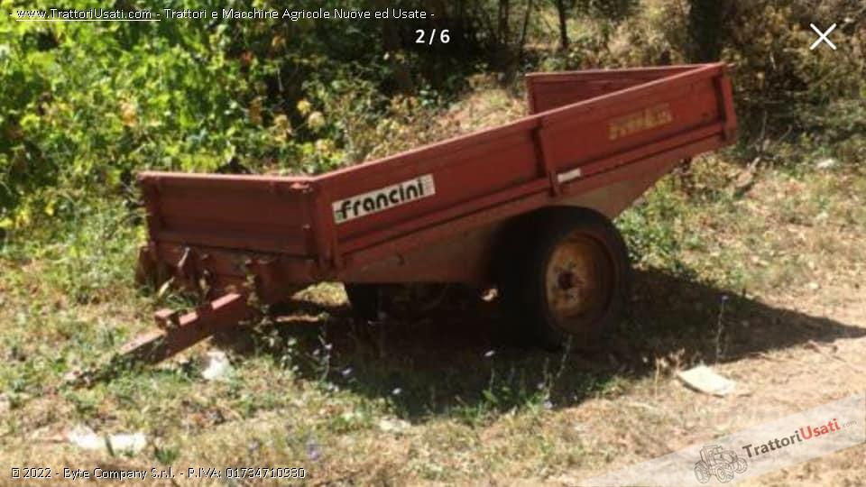 Carro agricolo  - 15 ql francini 0