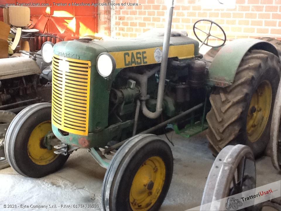 Trattore d'epoca case - lah 4 cilindri diesel 1