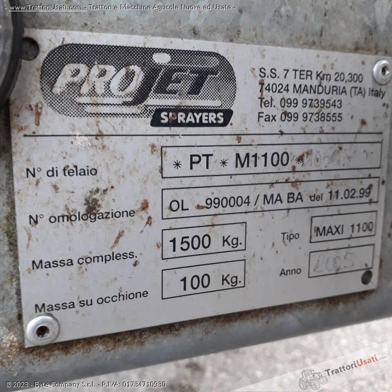 Atomizzatore  - projet 1100 maxi 1