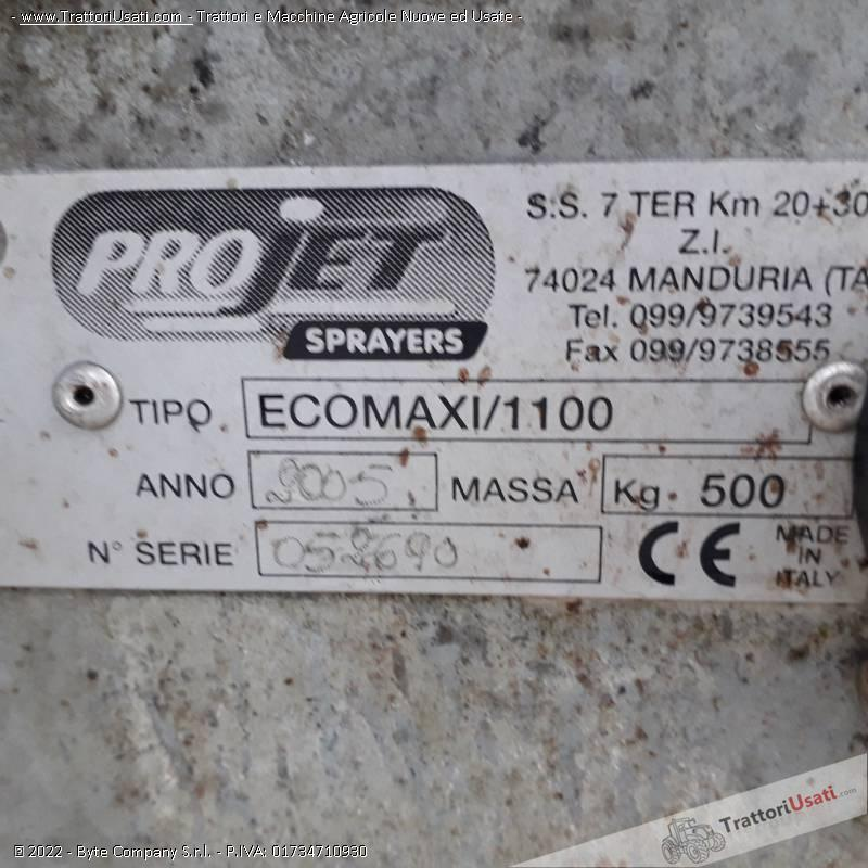 Atomizzatore  - projet 1100 maxi 6