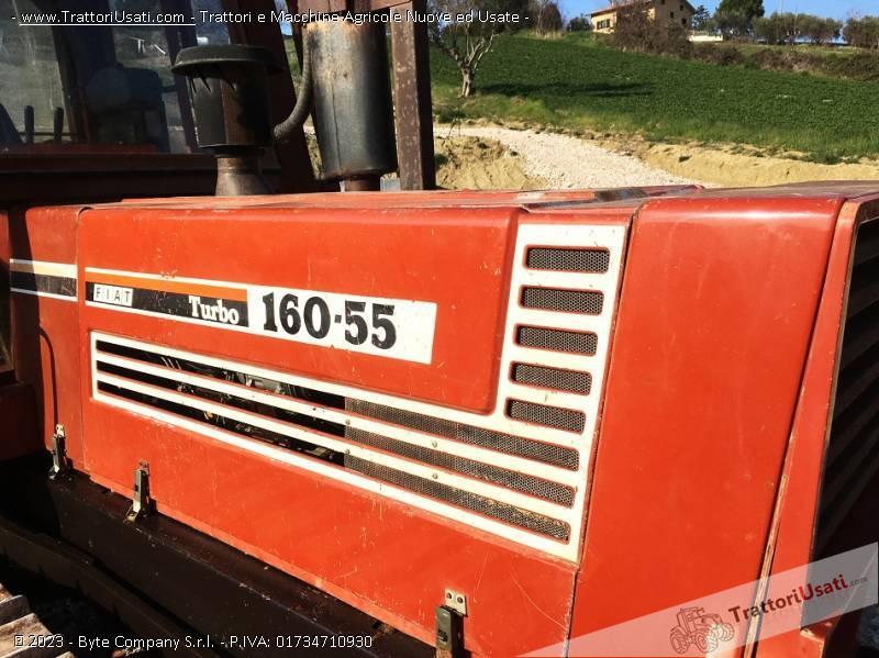 Trattore cingolato fiat - 160-55 5