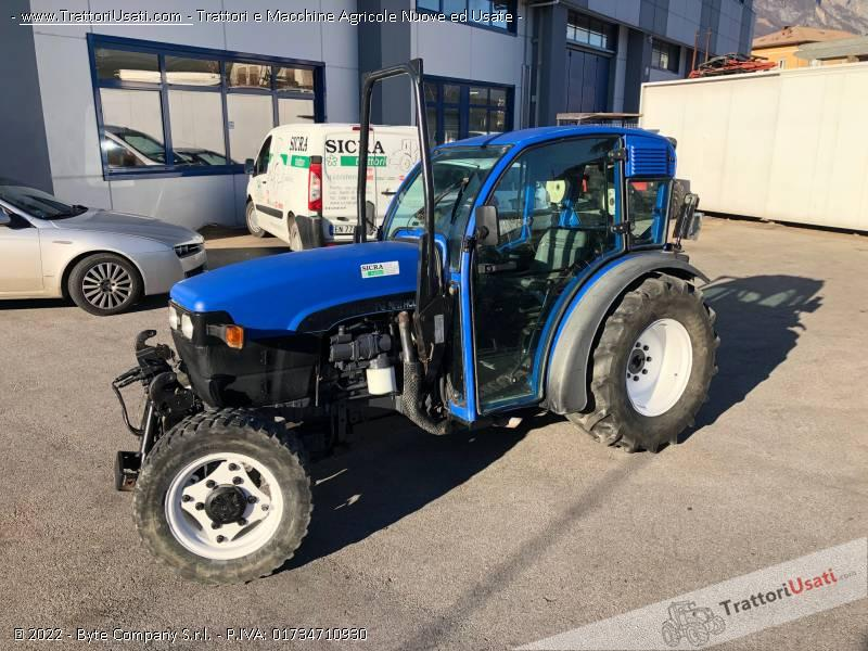 Trattore new holland - tn 65 v dt 1