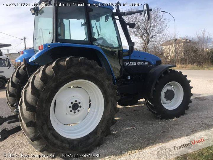 Trattore new holland - tm125 0