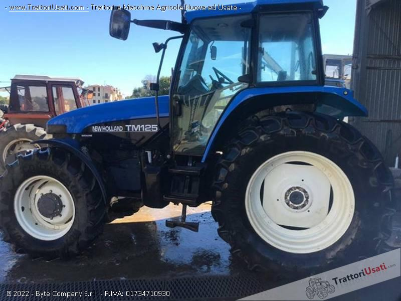 Trattore new holland - tm125 1