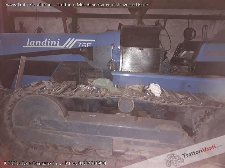 Trattore cingolato landini - trekker 75 0