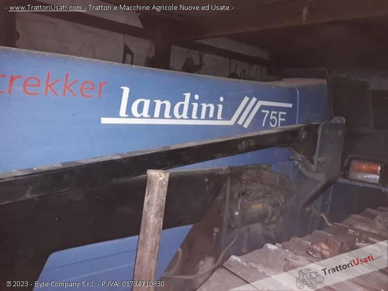 Trattore cingolato landini - trekker 75 1