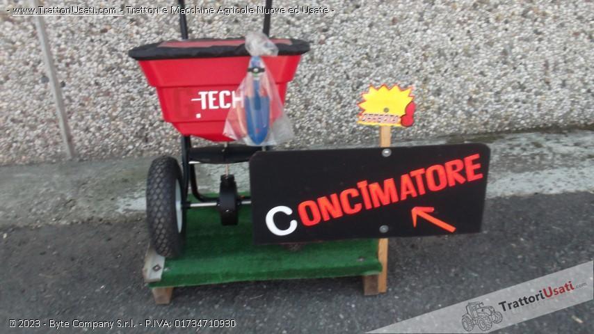 Concimatore  - pre prati e gardini g-tec 1