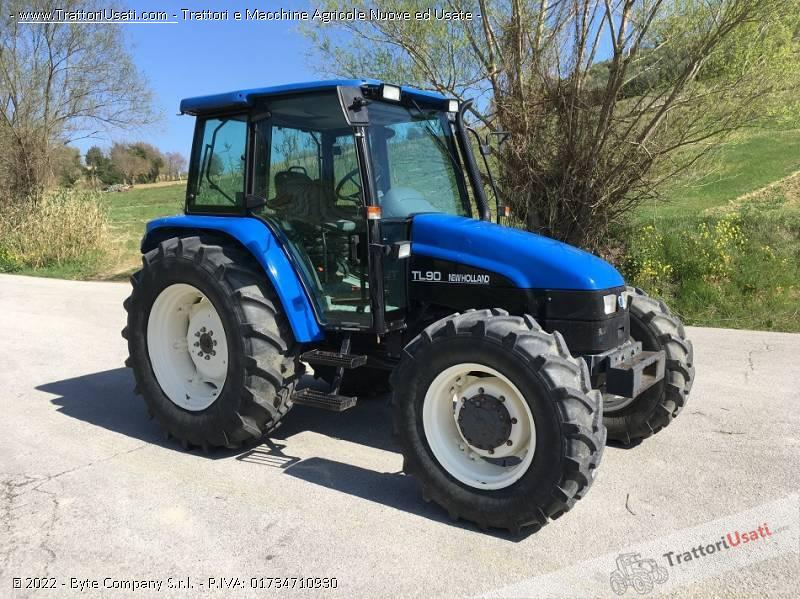 Trattore new holland - tl 90 0
