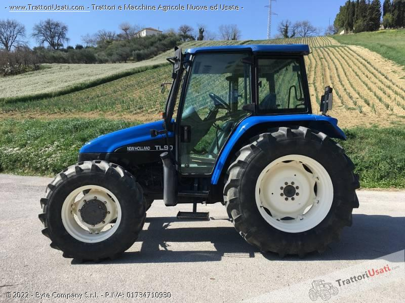 Trattore new holland - tl 90 1