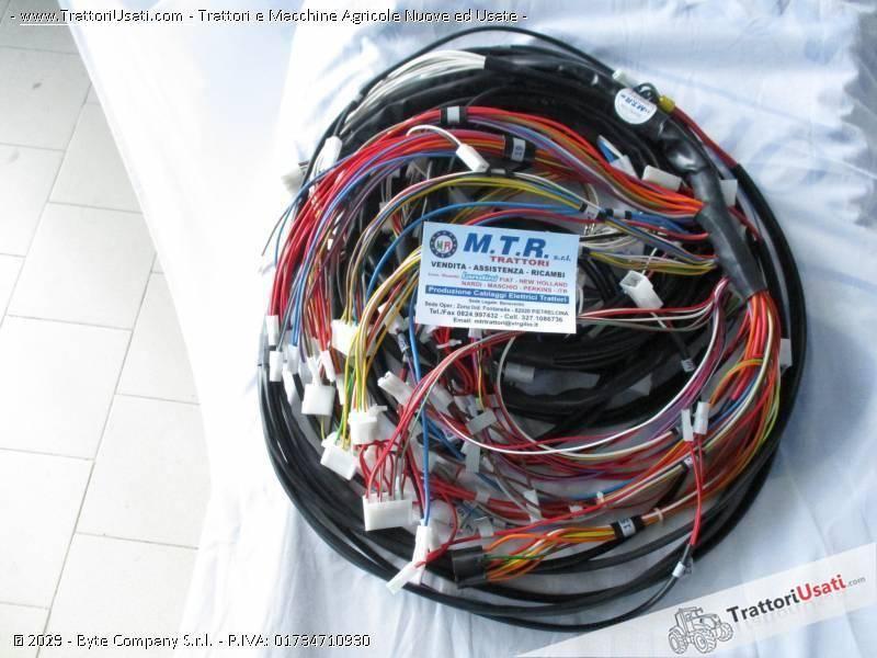 Cablaggi elettrici fiat - 130-90 0