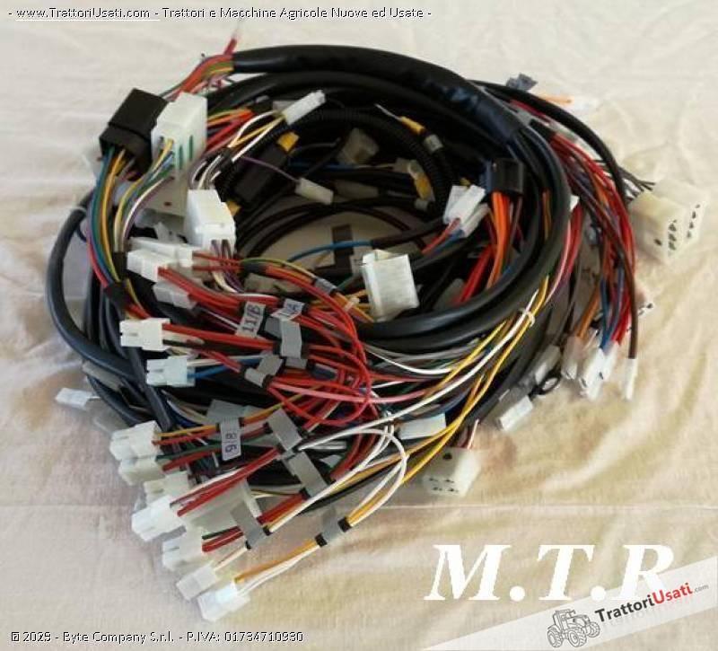 Impianto elettrico fiat - 850 cablaggio completo 0