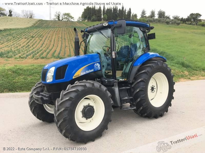 Trattore new holland - t 6020 plus 0