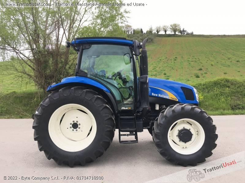 Trattore new holland - t 6020 plus 1