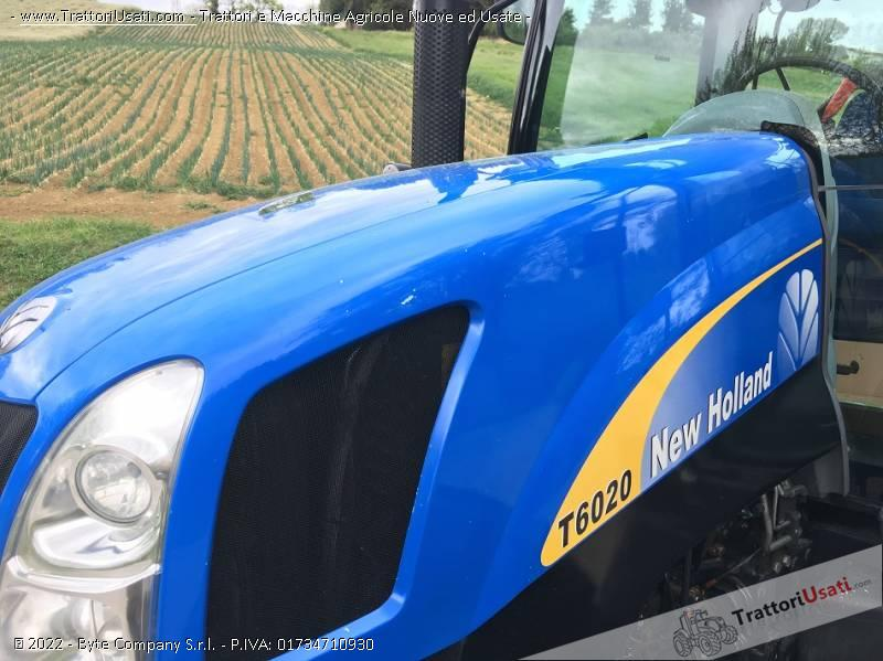 Trattore new holland - t 6020 plus 2