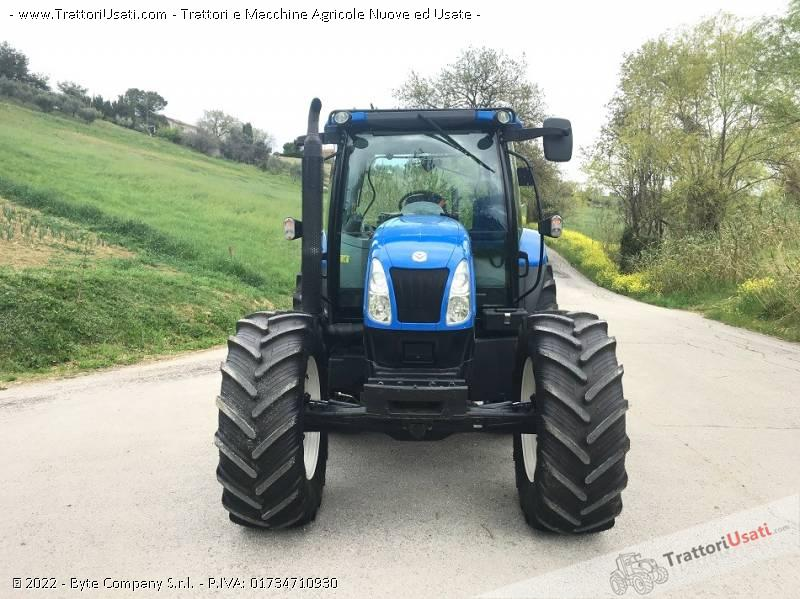 Trattore new holland - t 6020 plus 3
