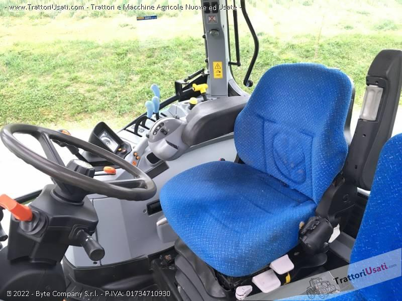 Trattore new holland - t 6020 plus 7