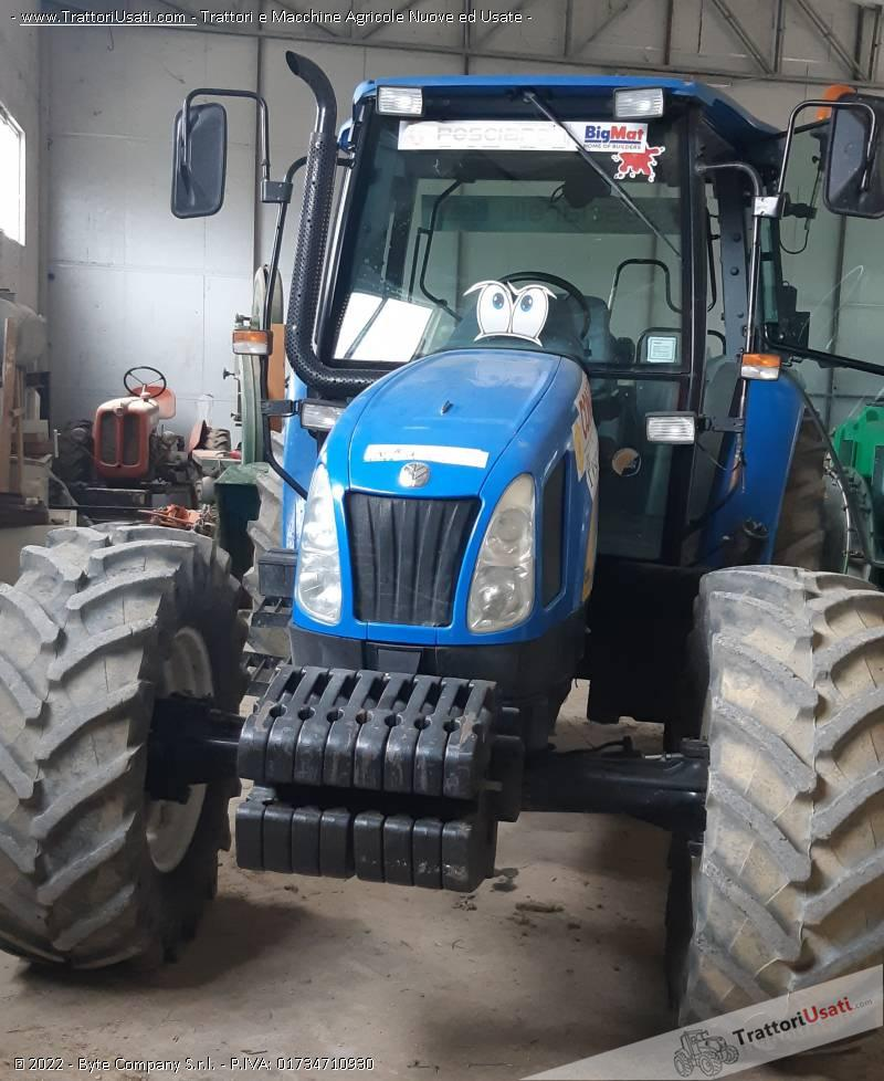 Trattore new holland - tl100a 1