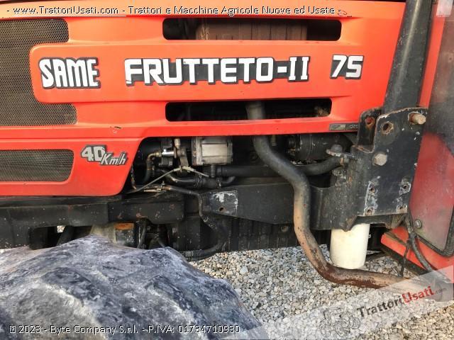 Trattore same - frutteto ii 75 5