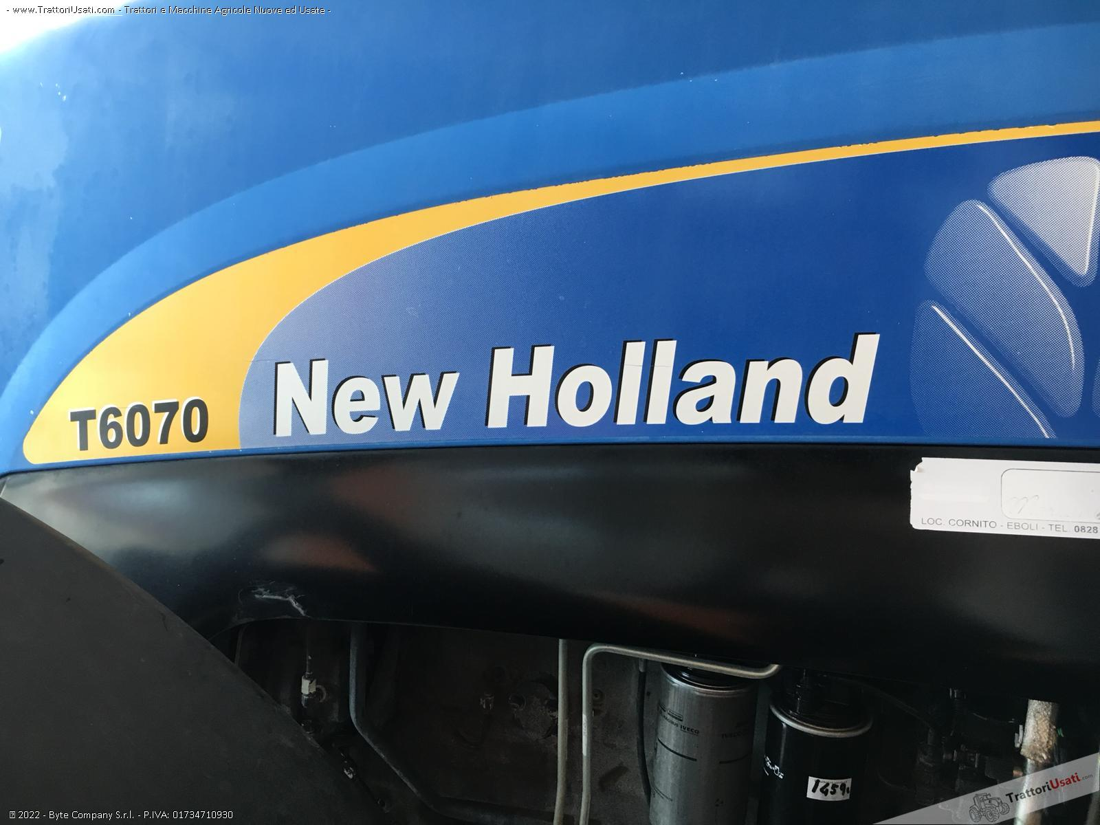 Trattore new holland - t6070 3