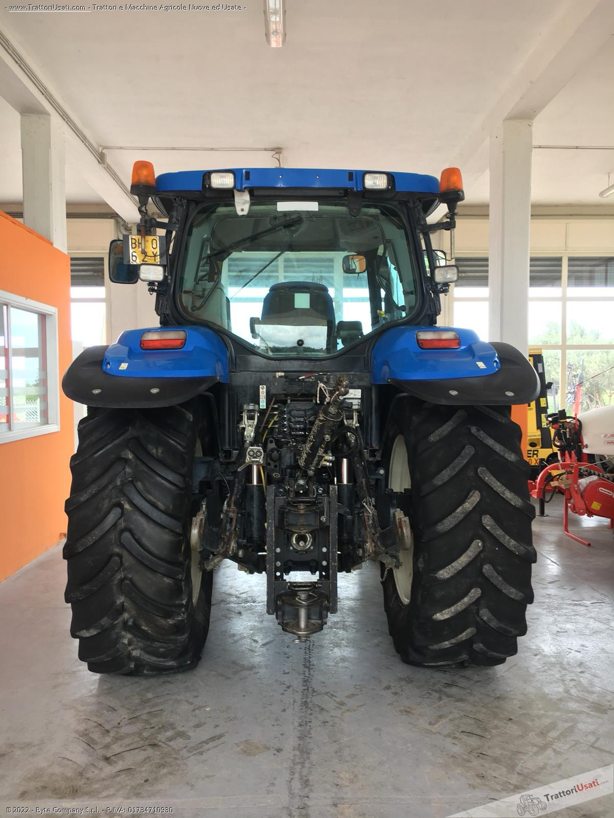 Trattore new holland - t6070 5