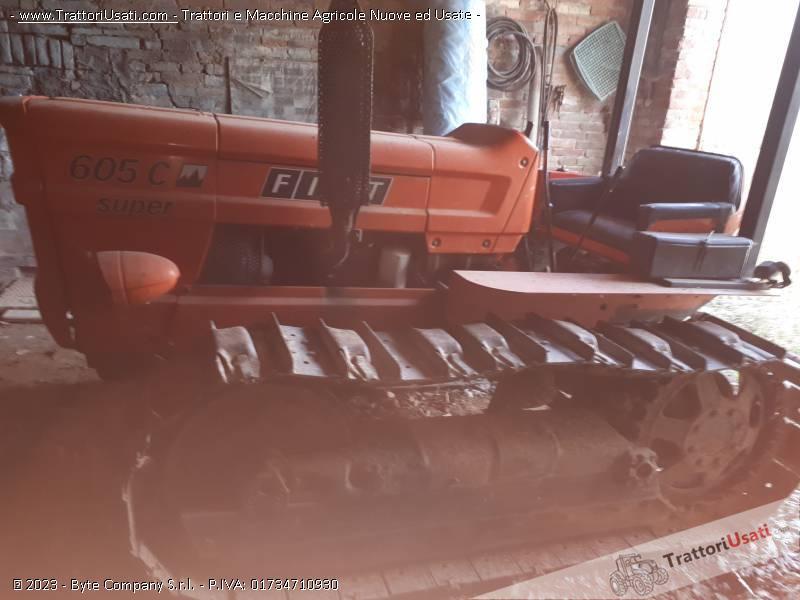 Trattore cingolato fiat - 605 0
