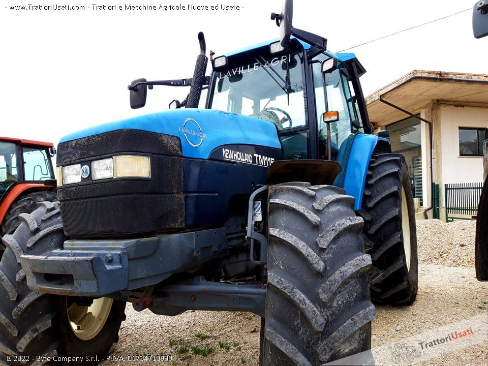 Trattore new holland - tm115 0
