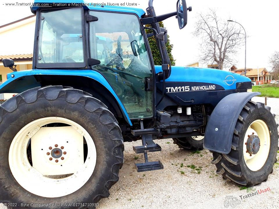 Trattore new holland - tm115 1
