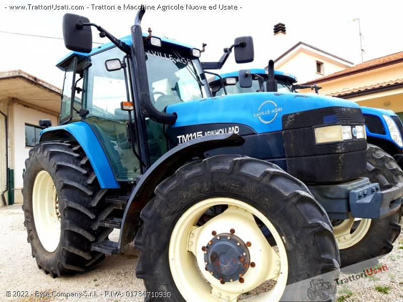 Trattore new holland - tm115 6