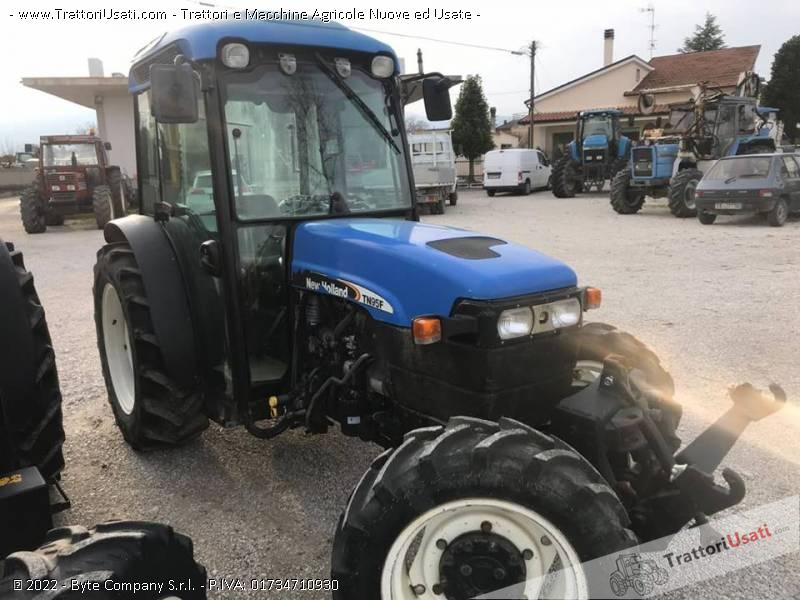 Trattore new holland - tn95f 0