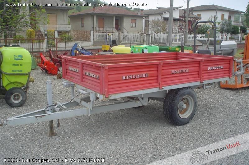 Rimorchio  - roagna monoasse 0