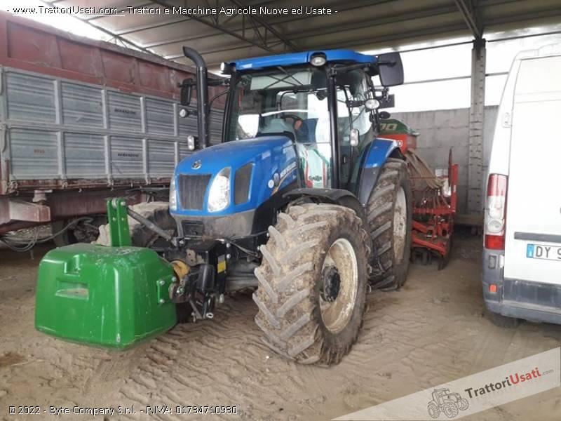Trattore new holland - t6 140 0
