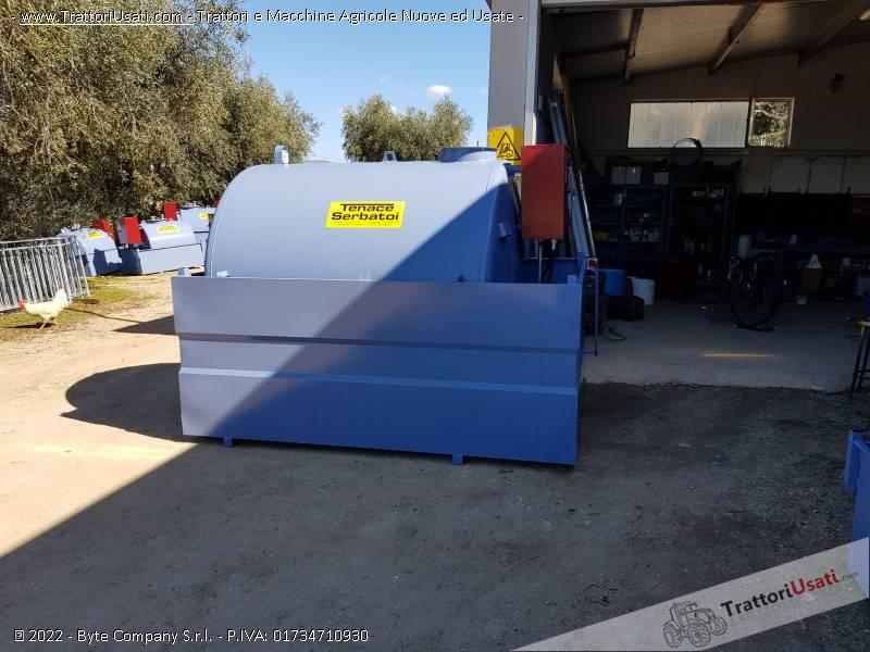 Cisterna  - tm30 litri 3000 tenace michele 2