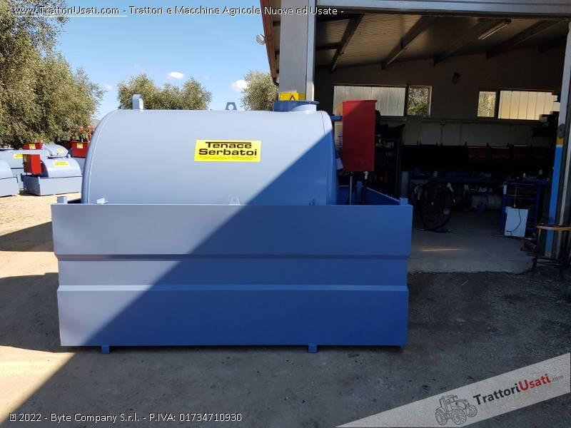 Cisterna  - tm30 litri 3000 tenace michele 3