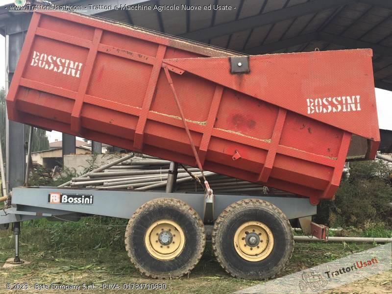 Rimorchio  - agricolo dumper bossini 2 assi 0