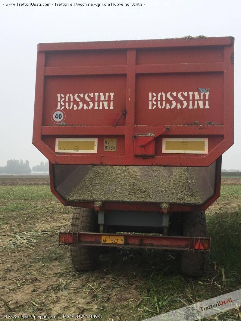 Rimorchio  - agricolo dumper bossini 2 assi 2